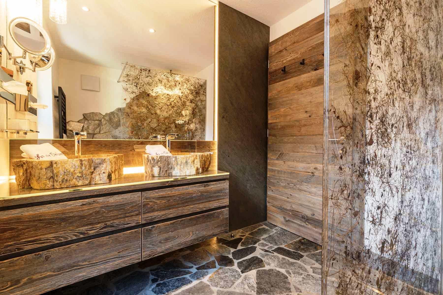 Appartamento di lusso alto adige - bagno fieno